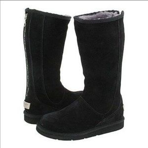 Ugg Black Knightsbridge Boots 8 EUC